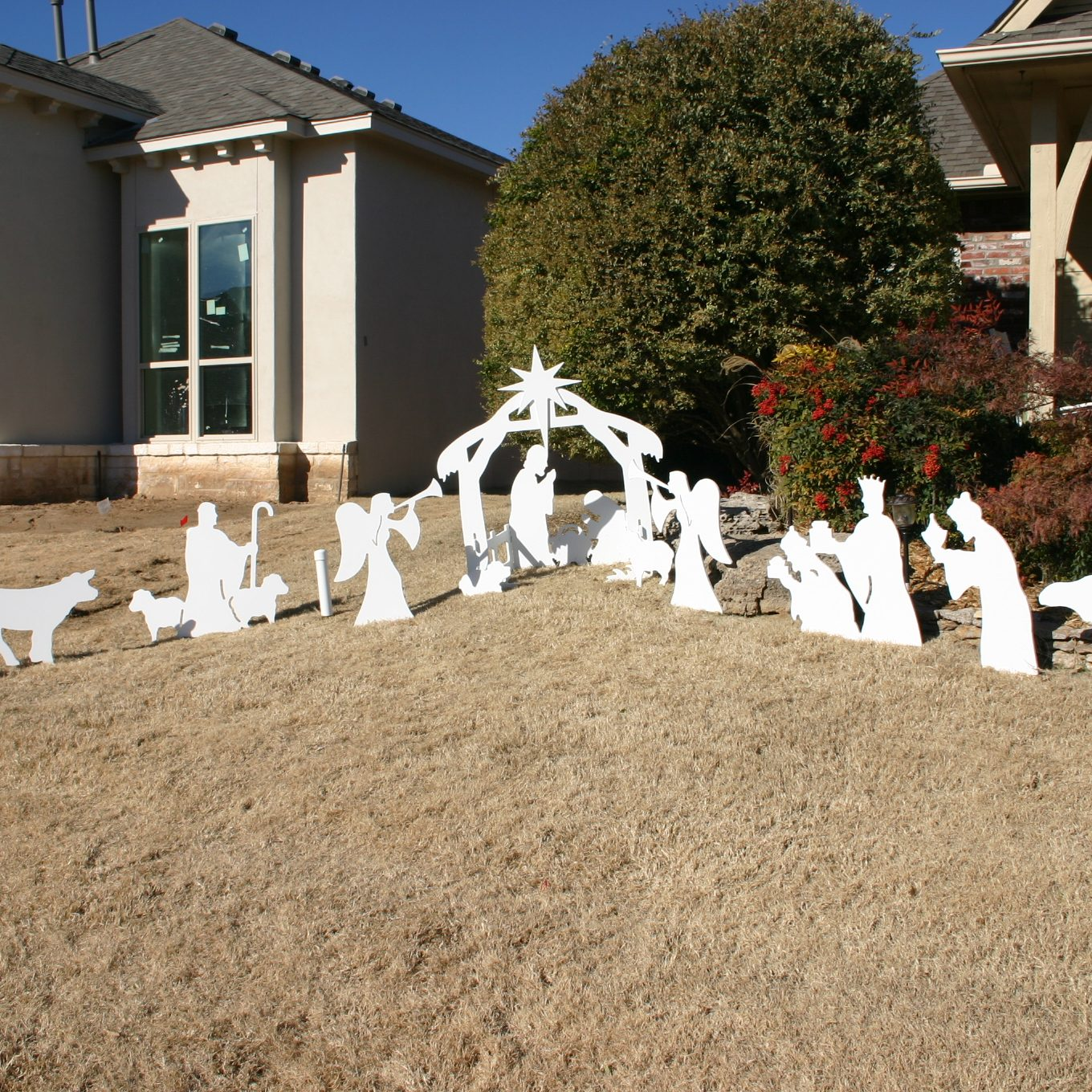 Outdoor Nativity sets – North Pole Annex